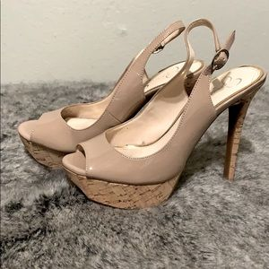 Jessica Simpson Heeled Pumps (size 7)